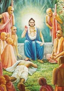 nityananda-prabhu-places-foot-on-raghunaths-head