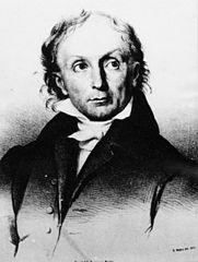 A portrait of Jakob Fries.