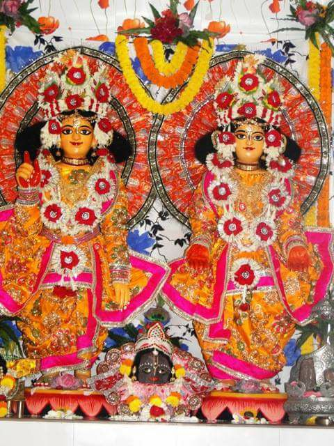 Personal deities of SrilaBhaktivinodaThakura - Sri Sri Gaura Gadadhar
