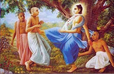 Nityananda Prabhu Punishes Shivananda
